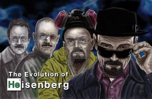 The Evolution of Heisenberg by TheArtofScott