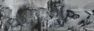 Ruines -a command work, detail 6 by Anna-Maija