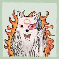 Okami: It's OVER 9000!!! by Taurus9
