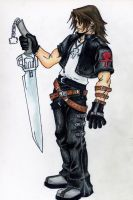 Leon... A.K.A. Squall Leonhart by ChaoticInsanity13