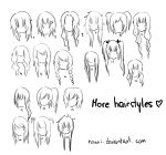 Hairstyles 2. by Nowii