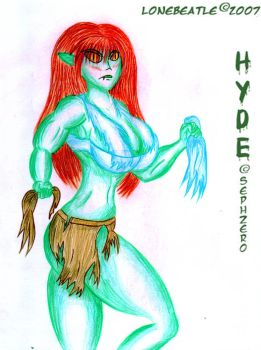 Hyde Experiment for Sephzero by Lonebeatle