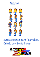 Maria charset para RpgMaker by sonicnews