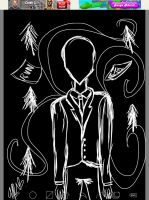 Slenderman by apinon