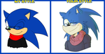 Sonic [my style/your style] by FroggyLovesCoffee