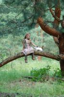 In the woods with a rabbit (11) by anastasiya-landa