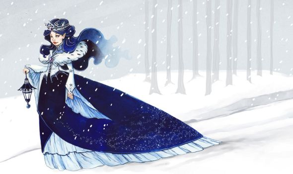 Winter Queen by OlayaValle