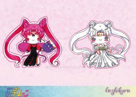 Sailor Moon Chibis 1 by luzhikaru