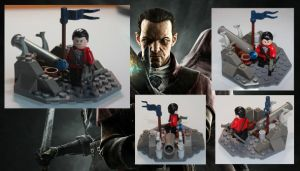 Lego Dishonored - Daud by LD-Skull