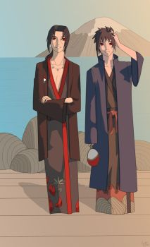 Uchiha Brothers by NurL-4