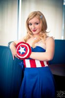 Avengers Assemble - Cocktail Captain America by LiquidCocaine-Photos