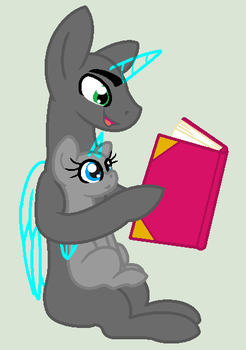 Base 84: Reading with Daddy by MADZbases