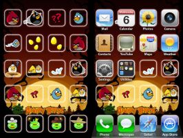iPod Angry Birds Wallpaper by ChrisssG