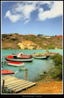 Fishermans boats - Curacao by simoner