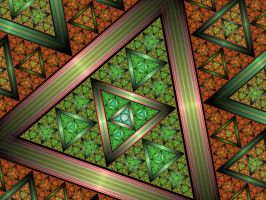 Triangles Multiplied 1 by AkuraPare