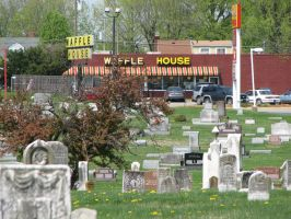Waffle House Cemetery by AutobotWonko