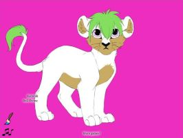 Kyle as a lion cub X3 by handcuffs4ever