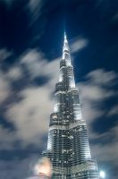 Burj Khalifa - New Year 2013 -- 01 by PhiloGraphic