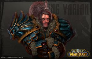 King Varian Vrynn - Stormwind -  Warcraft by GastonBR