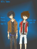 The Harts: Danny and Jay by imuffinator