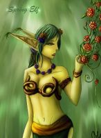 Spring Elf by Macabrecabra