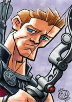 Hawkeye Sketch Card by Chad73