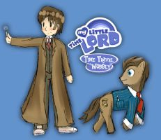 My Little Timelord by TDRloid
