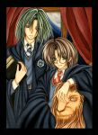 James and Severus by Frog-VaMp