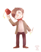I miss you, Raggedy Man by Sitas-the-Fool