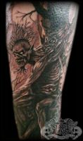 Fear of the dark by state-of-art-tattoo