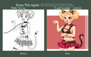 Draw This Again: Kittie 2010-2012 by Mathelt