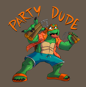 Party Dude by TheBrokenMonkey