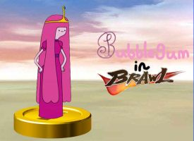 Princess Bubblegum joins the Brawl by rabbidlover01