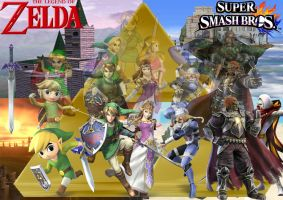 Legend of Zelda Smash Style *updated* by SuperSaiyanCrash