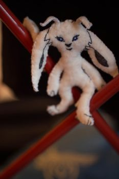 Ori and the blind forest- plushi by Imivai-crafts