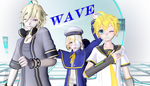 Mmd Wave Oliver Yohioloid Len tda AngR by Rubifanf by rubifanfic