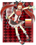 [CLOSED] - Miral: Cheshire Adopt Auction 03 by 0w0b