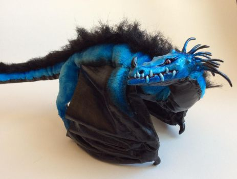 Dribbles the Poseable Wyvern Art Doll FOR SALE by Sovriin