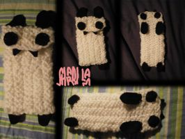 Bunny Panda Cellphone Case by seadworp