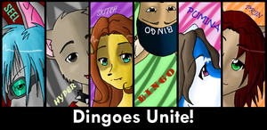 Dingoes Unite by prin-chan