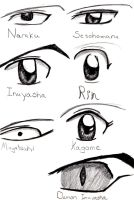Eyes from Inuyasha Final Act by Kogalover-Zoe