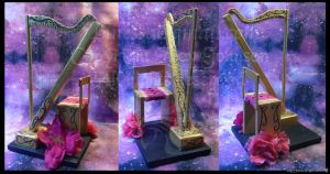 Roses' Harp by LRJProductions