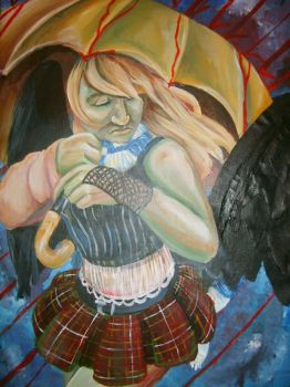 AP Art - Expressive self by lunescence