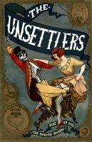 Unsettlers Gig Poster by Nimbus2005