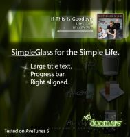 Simple Glass for AveTunes by DocMARs