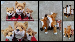 Russ Yomiko Classic Red Foxes! by Vesperwolfy87