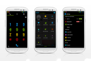 NEON COLORS IN CM10.1 by nitinvaid20