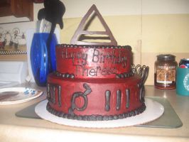 My freakin awesome birthday cake by EchelonMars14