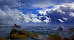 October Storm at Tahoe by sellsworth