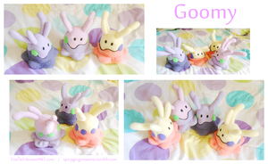 Goomy Beanies by Fox7XD